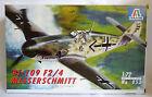 1:72 ITALERI - MESSERSCHMITT Bf-109 F2/4 - WWII - REF. 053 - NUOVO