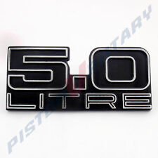 5.0 LITRE Tailgate Badge New for HOLDEN HJ HX HZ Kingswood Monaro GTS Tail Gate