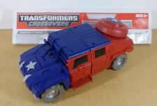 New ListingCaptain America Hummer Transformers Crossovers Marvel complete +instructions