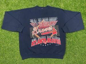 Atlanta Braves MLB Team Sweatshirt Long Sleeve Vintage Unisex Shirt Sweatshirt