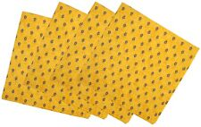 French Provence 100% Cotton Set of 4 Napkins - Sunflower Blue