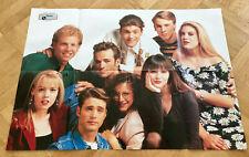 1991 Beverly Hills 90210 - Swedish Poster Music Magazine 1990s Vintage Rare