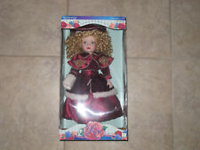 Victoria Rose Special Edition Porcelain Doll 1997 By Melissa Jane New In Box