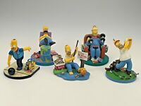 5 Sculptures The Simpsons Misadventures of Homer Sculpture Hamilton Collection
