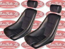 2x CLASSIC CAR BUCKET FUSINA SEATS CLASSIC FIAT ABARTH ALFA GTA TRACK BRAND NEW