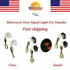 2XFlush Mount LED Turn Signal Light Fit Yamaha FZ6R Raven FZ1 YZF R1 R6 R6S FZ09