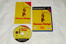 PS2 GAME CURIOUS GEORGE with Booklet (2006) (UK Pal Region 2).