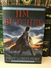 First Lord's Fury by Jim Butcher - signed 1st/1st - Codex Alera Book 6