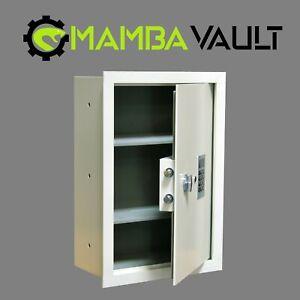 "Mamba Vault Fire Resistant Wall Safe 8"" Deep with Digital keypad Lock MVS2113-DF"