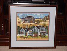 Charles Wysocki Devilstone Harbor with Custom Framing, COA and Original Folder
