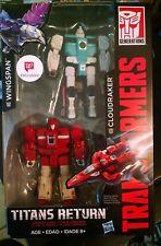 Transformers Titans Return CLOUDRAKER WINGSPAN 2-pack Walgreens Clones MIB