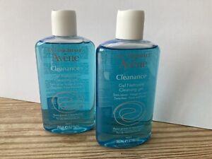 Avene Cleanance Soapless Cleansing Gel For Oily Skin 2 Bottles. Each 200ml