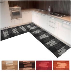 Carpet Kitchen Angular Runner Tailored per Meter Non-Slip Aisle Broadside