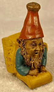 """GIFT """"I""""-R 1987~Tom Clark Gnome~Cairn Studio #5015~Edition #73~Story Included"""