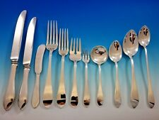 Pointed Antique by R&B D&H Sterling Silver Flatware Set Service 135 Pcs Dinner