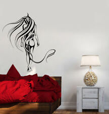 Wall Decal Naked Sexy Girl Beautiful Woman Devil Abstract Patterns Vinyl (ed767)