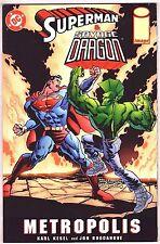 SUPERMAN & SAVAGE DRAGON PRESTIGE FORMAT VF 1999 'METROPOLIS' DC/ IMAGE COMICS