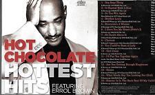 1 newspaper cardboard promo cd HOT CHOCOLATE hottest chocolate 70s originals