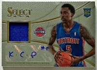 2013-14 Select Kentavious Caldwell-Pope Auto RC Jersey Pistons Lakers Autograph