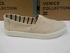 Toms Mens Classic Cupsole Natural Heritage Canvas Size 12