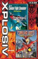 MICROSOFT Combat Flight Simulator & Crimson Skies New