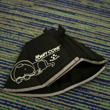 The Comfy Cone Dog Soft Collar Black Sz Small Recovery
