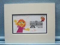 Jim Henson's Muppets & Sesame Street & First Day Cover of the Julia stamp