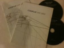 COLDPLAY 'Live 2003' Region All DVD & CD With Booklet - Sydney