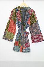 Vintage Women Silk Clothing Kantha Jacket Short Banjara Jacket   JK51