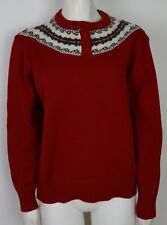 New listing Vintage - Women'S Red Pullover Sweater - Knitivo Ii - Size 42