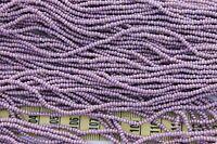 Light Purple AB Finish 11/0 Czech Glass Seed Beads/ Hank