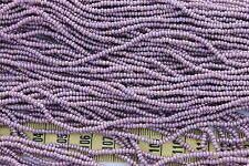 Light Purple AB Finish 11/0 Czech Glass Seed Beads/ Hank
