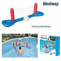 Bestway Inflatable Floating Volleyball Net Summer Outdoor Swimming Pool Game