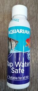 WATER TAP SAFE AQUARIAN CONDITIONER AQUARIUM FISH NEUTRALIZE CHLORINE 118ML.