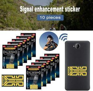20Pcs Mobile Phone Signal Enhancement Antenna Booster Safeguard Stickers