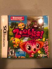 Zoobles w/Toy New Nintendo DS