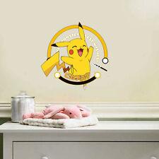 DIY Generic Cute Pokemon Pikachu Decal Wall Sticker Decor Kids Nursery Room