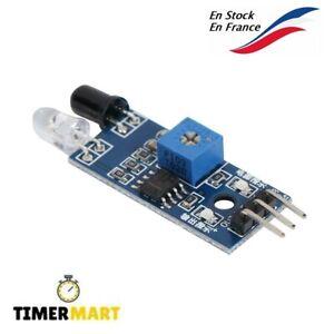 Capteur infrarouge détecteur d'obstacle compatible Arduino - TimerMart