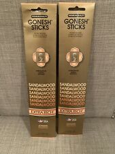 Gonesh Sticks-Sandlewood 20Ct Incense Sticks One Pack New Other Contains 10