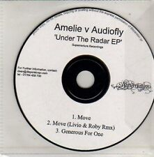 (Cu651) Amelie v Audiofly, Under the Radar Ep - Dj Cd