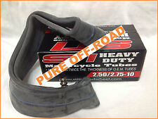 Motorcycle Tube, 2.50/2.75-10, Fits CRF50, Mini KTM, PW50, TTR50, Heavy Duty!