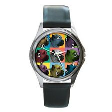 Cane Corso Watch - Cane Corso Dog Pop-Art Wristwatch