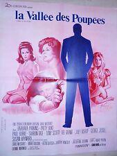 sharon tate LA VALLEE DES POUPEES !  affiche cinema 1967