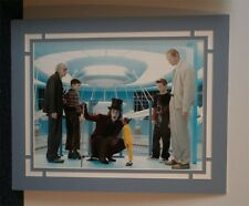 Charlie and the Chocolate factory johnny depp  12x16 photo mounted to 20x16,