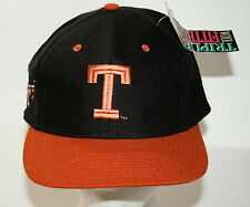 Vtg University Texas Longhorns Top of World New NOS Cap Hat 1990s 7 1/4 Fitted