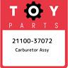 21100-37072 Toyota Carburetor assy 2110037072, New Genuine OEM Part