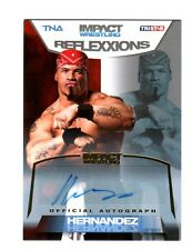 TNA Hernandez 2012 Reflexxions GOLD Authentic Autograph Card SN 25 of 50