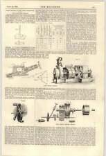 1900 Laval TURBINE A VAPORE Ventilatore