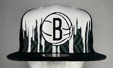 Mitchell and Ness NBA Brooklyn Nets Drip Jersey Snapback Hat, Cap, New