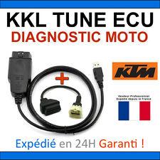 Valise KKL MOTO Kit officiel diagnostic KTM + ADAPTATEUR OBD compatible TUNEECU